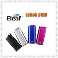 Wholesale Electronic cigarette eleaf istick W battery istick W eleaf istick W mod I stick W battery VS eleaf istick W W DHL free