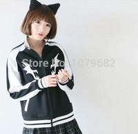 Wholesale New KILL LA KILL Matoi Ryuuko Hoodie Cosplay Coat Costume Sweatshirt