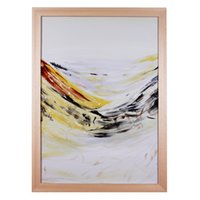 abstract sea paintings sale - Hot sale Brand New Porcelain Wall Paintings Abstract Seascape Painting Series Sea Wave Hand painted Framed Ready to hang Wall Art Decor