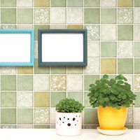 bathroom mosaic tile designs - 5 Meter wall decor kitchen mosaics walls sticker oilproof self adhesive wall paper tiles wallpapers home decor for bathroom