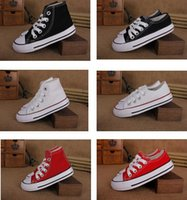 buy eu 34 shoes - EU size 24-34 New brand kids canvas shoes fashion high - low shoes boys and girls sports canvas shoes and sports children shoes