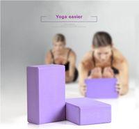 Wholesale Yoga Block Foam EVA Brick Stretch Practice Tool Aid Health Fitness Pilates Exercise Gym Equipment cm