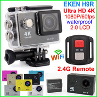 action control - EKEN H9R Ultra HD K Wifi Action Camera Remote control waterproof Sport DV inch LCD P fps D lens Gopro Style cam