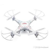 achat en gros de conduit vidéo d'éclairage-Plus récent Quadcopter RC 4CH 2.4GHz 6 Quadcopter Quadcopter Kit avec led Drone quadcopter meilleure qualité