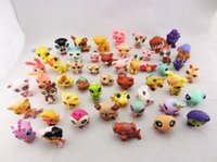 Wholesale Littlest Pet Shop LPS Animasl Loose Figures Collection toy sets