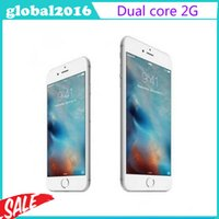 Wholesale Goophone I6s Plus MTK6572 Dual Core Android M G G Can Show Fake G Unlocked Smart sealed box VS S7 Edge