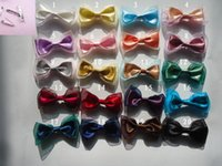 american doll costumes - Pins Brooches Satin bow tie collar brooch cloth doll costume jewelry accessories