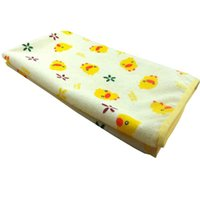 baby bedding ducks - Baby Urine Mat Cover Burp Pad Portable Urine Mat Waterproof Baby Infant Bedding Changing Nappy Cover Pad Yellow Duck cm