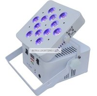 Wholesale China High Quality w RGBWAUV IR Remote Wireless Battery DMX Light