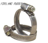 Wholesale British manufacturers of galvanized iron hoop hoop Guan Jia hose clip hoop clamp acetylene oxygen tube clip