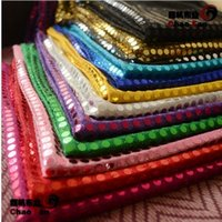 Wholesale shiny sequined fabric wedding background cloth mm sequins material mesh embroidery dancing stage decor paillette fabric