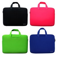 Wholesale Portable Ultrabook Notebook Soft Sleeve Laptop Bag Case Smart Cover for MacBook Pro for iPad Pro Retina quot inch Handlebag