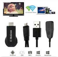 Wholesale Chromecast TV Stick OTA Dongle Wi Fi Display Receiver Miracast Airmirroring Andriod Windows iOS MiraScreen