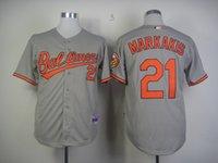 baltimore orioles nick - Baltimore Orioles Mens Cool Base Jerseys High Quality Nick Markakis Gray Baseball Jersey Can Mix Order