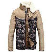 advance jacket - Fall Jacket Men Winter Duck Down Men s Winter Collar Camouflage Mixed Colors Camouflage Parka Hit Advanced White Duck Down Mon Jacket