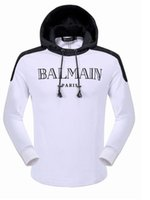 Wholesale New Balmain Causal Men s Hoodies Sweatshirt Autumn Winter Pullover Men Sportwear Mens Coat Jogger Running Sport Brand Designer