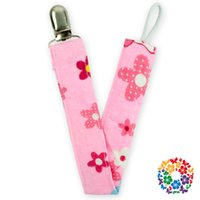 Wholesale 06 new design colorful baby pacifier clip factory metal pacifier clip