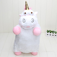 Unisex big lots pillows - 5pcs inch cm Despicable Me Unicorn Plush Pillow Toy Doll big Fluffy figure gift retail