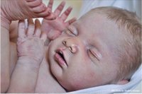 Wholesale 20 quot Soft Vinyl Reborn Doll Kits Collectible Reborn Baby Doll kits Parts Chloe by Debbie Doll Artists