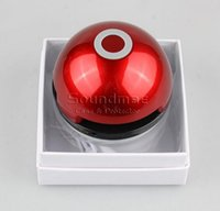 audio magic - Magic Pokeball Bluetooth Speaker Poke LED Night Light Speaker with Mic Portable Wireless Stereo Subwoofer with Retail Box