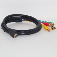 Wholesale Feitong ft Full HD P HDMI Male to RCA RGB Audio Video AV Component Cable amp Wholesales