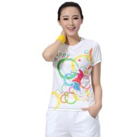 Wholesale Women Professional Shirt for Fitness Running Badminton Tennis Sports T shirt Short sleeved Quick Dry Tees Exercises Woman Tops
