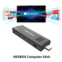 Wholesale NEXBOX T5 Mini PC Intel Z8300 Windows10 TV Dongle UHD K GB RAM GB TV Box Core GHZ Wifi Bluetooth TV Stick