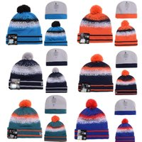 ab stretch - 49ers Knitted Beanie Hats Fitted Men Designer Sport Winter Pom Ski Beanie Hats for Women with Stretch Wool AB