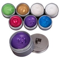 Wholesale Unisex Disposable Hair Styling DIY Hair temporary hair dye cream hair color hair cream color Colors Available free dhl shipping
