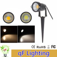Wholesale Garden Lamps Lawn Lamps W W LED COB Floodlight Waterproof IP65 Warm White Cool White For Garden Yard Path Landscape Lighting