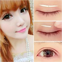 Wholesale Fashion Pairs Double sided Invisible Thin Eyelid Clear Make Up Adhesive Sticker Tape