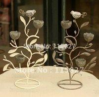 Wholesale Min order mixed items Wedding lantern Iron Candle Holder wedding gift Large Tree Shape Candle Holder