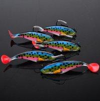 Wholesale New Proberos Soft Plastic Lures Fishing Lure Bait Tackle cm g piece