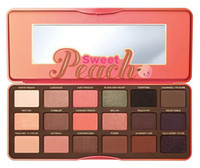 palette 18 color - in stock lowest price High quality New Arrivals hot makeup Sweet Peach color eyeshadow palette