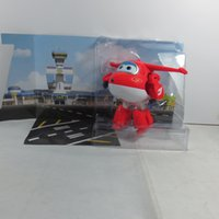 Wholesale Super Wings Deformation Airplane Robot Action Figures Super Wing Transformation toys for children gift Brinquedos