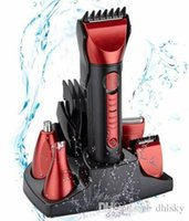 Wholesale Waterproof In Rechargeable Mens Shaver Razor Beard Electric Hair Clipper Trimmer Grooming Professional Cutting Outdoor