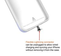 alibaba - Alibaba wireless charger power bank soft TPU backup charging external battery case for iPhone s s sp