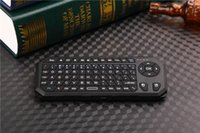 Wholesale 2 G Wireless Fly Air Mouse Keyboard IR IBK With Learning Controller for TV Box Laptop Mini PC