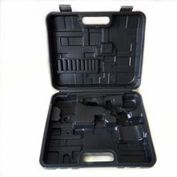 Wholesale Electric screwdriver bits Hammer Sleeve Wrench box iron tools power tool accessories hand Electric drill bits plastic box case
