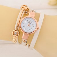 belt with stones - 100pcs Women ladies golden cases retro watch butterfly wings diamond stone crystal fashion leather Vine bracelet dress watches