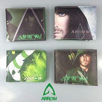 arrow photo - DC Comics Super Hero Series Wallets Anime Green Arrow Man Wallet Cartoon Purse Dollar Leather Bags inch