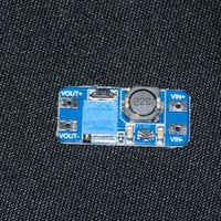 arduino power adapter - MT3608 DC DC Step Up Booster Power Supply Module Converter Adapter Output A V For Arduino DC Step Up Power Board MT3608