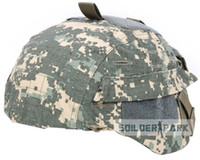 Wholesale Hot Tactical Army Helmet Cloth Cover for MICH Ver2 Outdoor Combat WarGame Sports Protective Helmet Cover order lt no trac