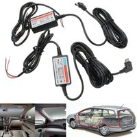 Wholesale NEW Micro USB Parking Guard Hardwire Kit For Car DVR V A Output Dash Camera Power Wire For Low voltage Protection M