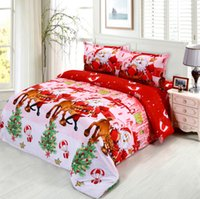 animal fairness - JEESY HOME D Merry Christmas Santa Claus bedding set queen nice beauty fairness cosiness duvet set twin queen king size