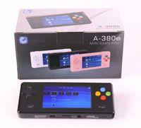 Wholesale New Black Dingoo A380E Handheld Emulator game console A320 Music Video Player Radio E book Browsing China Mainland video