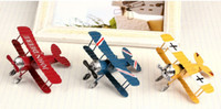 antique model ships - Home Furnishing old iron crafts ornaments retro biplane model creative decoration d Cool Best Gift With Tracking Number