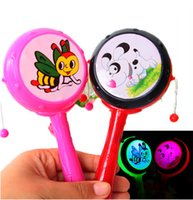 Wholesale Light emitting colorful rattle rattle rattle rattle flash selling children s toys