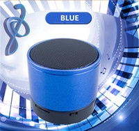 acoustic computer - Bluetooth Mini Speaker Wireless Bluetooth Speakers Mini Subwoofer Small Steel Gun Speakers Radio Card Computer Phone Acoustics Cable