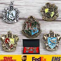 adult movie box - 5Pcs Box Harry Potter Hogwarts House Metal School Badges Pin Brooch Gryffindor Children Adult Cartoon Movie Action Figure Toys Gifts ZJ B10